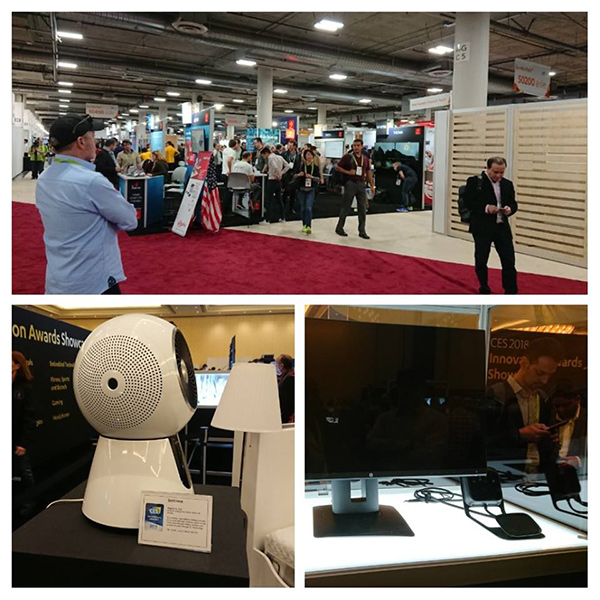 salon high-tech mondial CES 2018 Las Vegas Agoravita