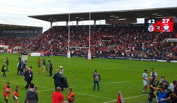 Match Stade Toulousain Racing 2018 Agoravita